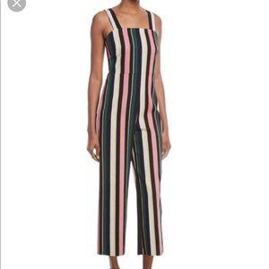 Catherine Maladrino Striped Jumpsuit